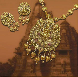 These are magnificent pieces of Traditional Indian Jewellery create by Indian artisans in Copper and other non-precious metals. Karatcart presents an exclusive range of Temple Jewellery and Coin Jewellery designs in this collection.