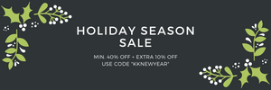 "Karatcart's Holiday Season Sale - Minimum 40% OFF + Extra 10% OFF. Use Code ""KKNEWYEAR"""