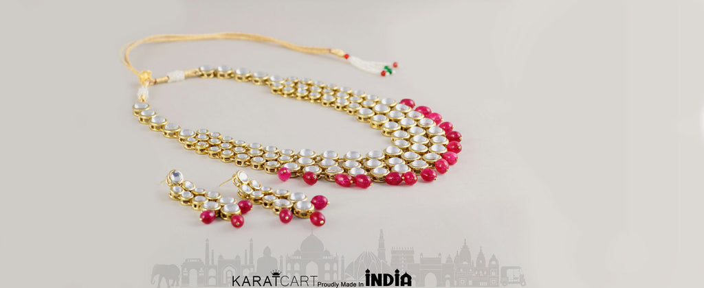 Kundan Collection By Karatcart.com | Antique origins