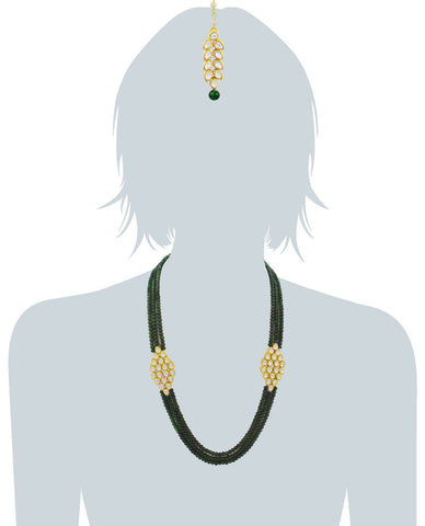 22K GoldPlated Antique origings Kundan Necklace