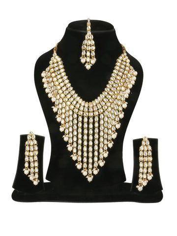 Kundan Choker necklace with Tassels