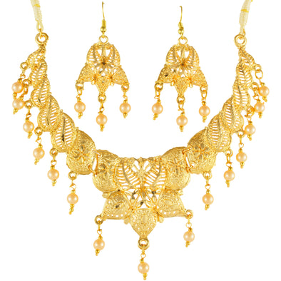 Gold Forming Necklace