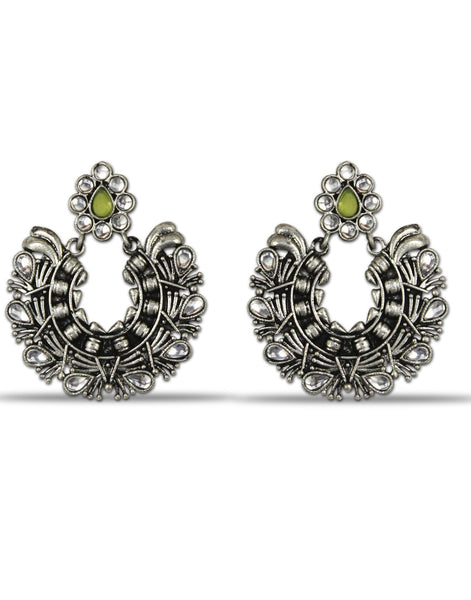Afghani Tribal Oxidised Dangler Stylish Fancy Party Wear light Weight Earrings