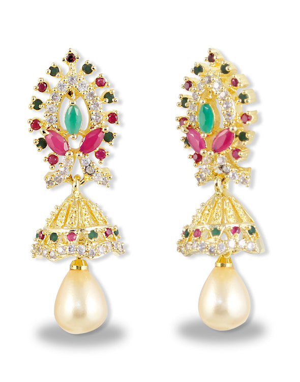 Traditional Multi-Colour Jhumki
