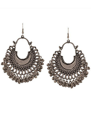 Afghani Tribal Oxidised Dangler Stylish Fancy Party Wear Earrings