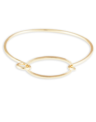 Gold Metal Bracelet For Women