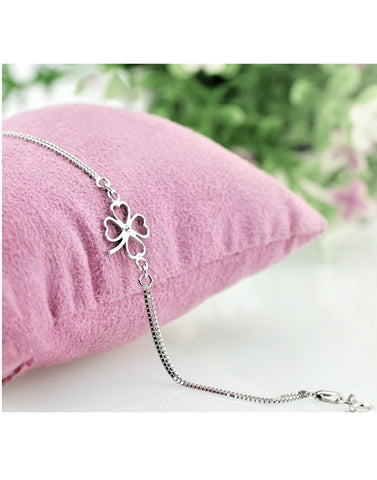 Platinum Plated Floweret Bracelet