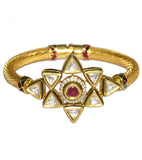 Starz Kundan Adjustable Bracelet