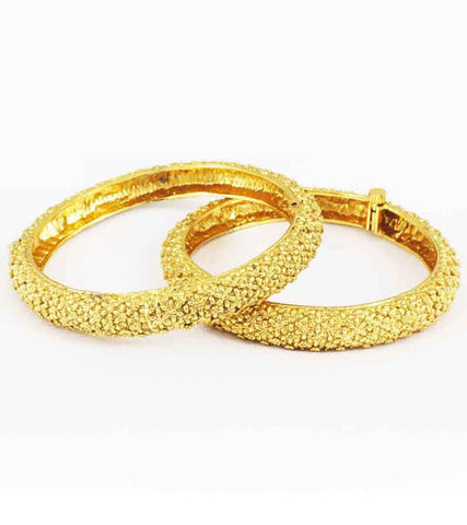 24K GoldPLated Traditional Bangle Pain