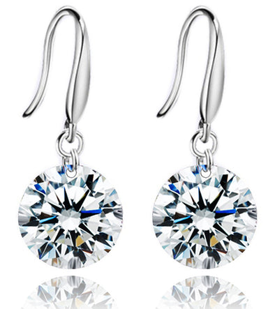 Karatcart Dazzling Crystal Dangle Earring
