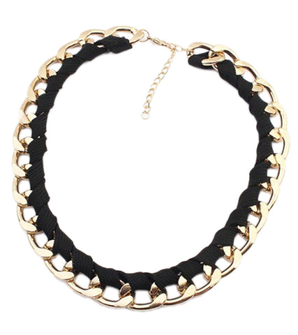Karatcart GoldPlated Trendy Chain Necklace