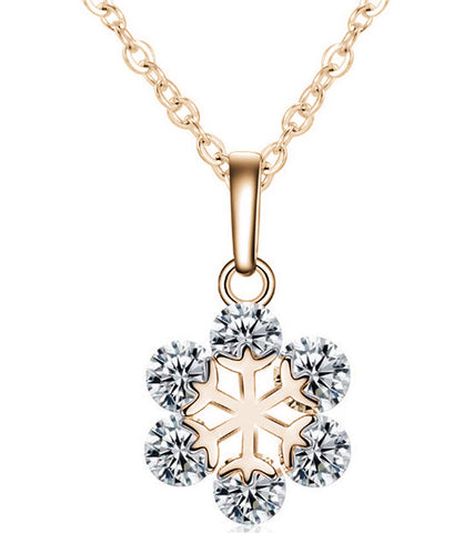 Karatcart GoldPlated Trendy Elegant Austrian Crystal Pendant For Women