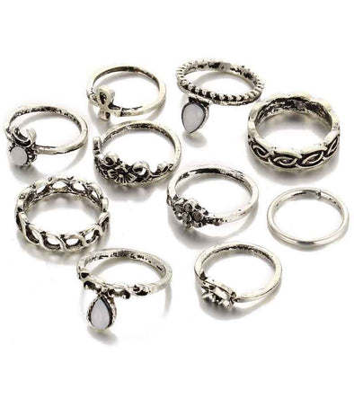 Oxidised Silver Rings