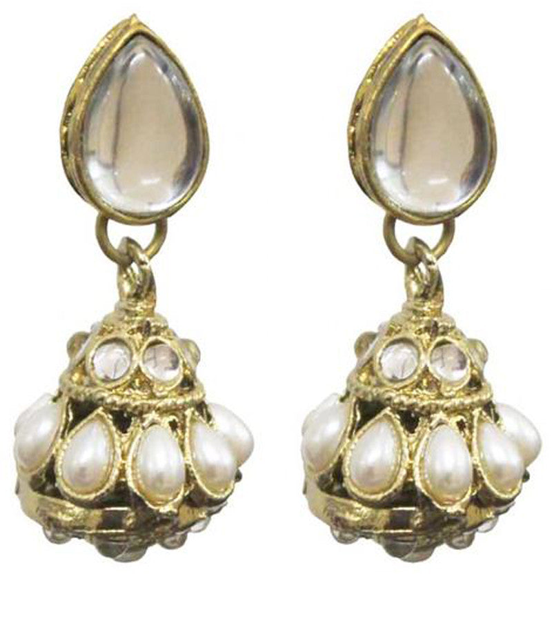 Kundan Borla Earrings