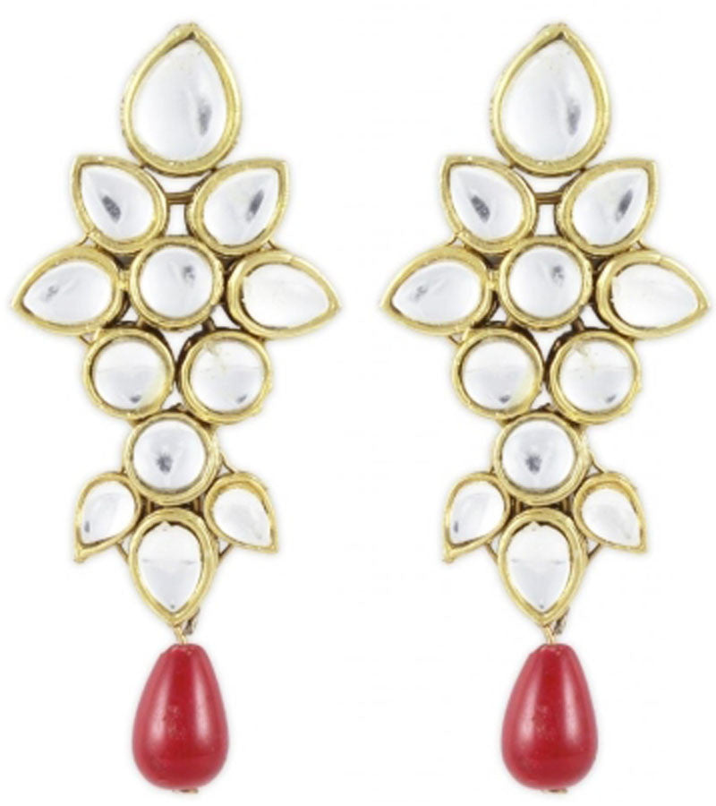 Kundan earrings | Karatcart.com