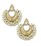 Karatcart 24K Goldplated Traditional Earrings Set