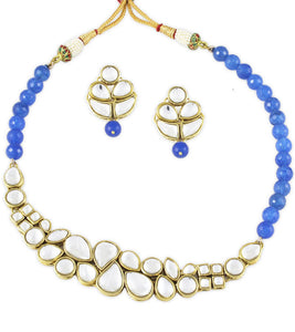 Karatcart Ethnic Kundan Alloy Jewel Set