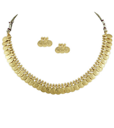 Nishi Gold Forming Necklace Set