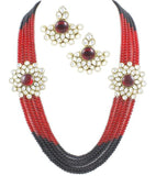 Leena Kundan Necklace Set