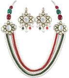 Mia Multi-colour Multi-String Kundan Traditional Jewel Set