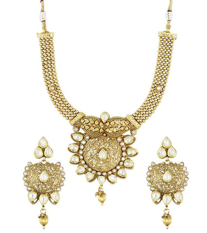 Karatcart 22K Goldplated Traditional Necklace Sets