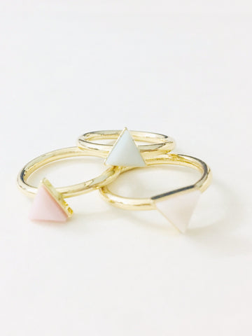 Gold Metal Combo Ring