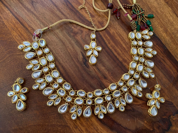 Goldplated Kundan Necklace