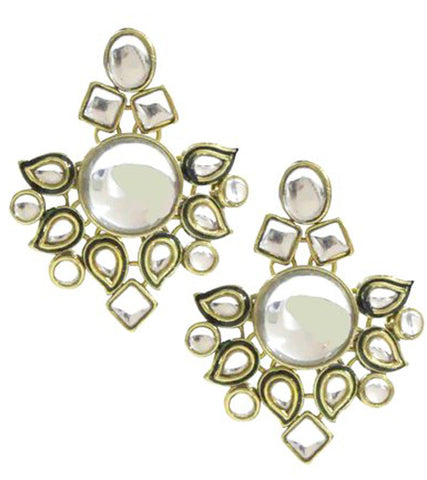 Meera Kundan Earrings