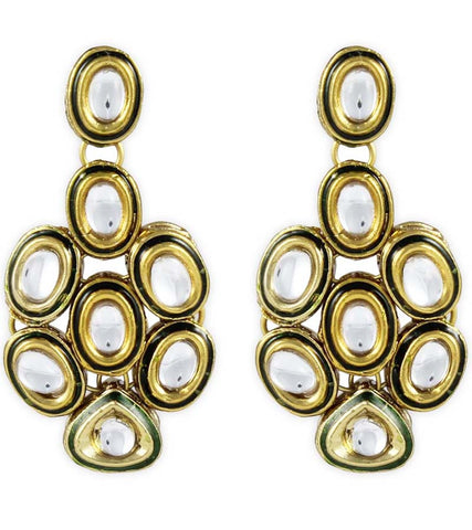 Broody Kundan Earrings