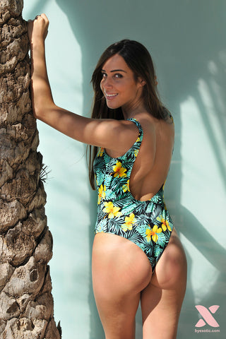 Bañador estampado Tropical Print - Exotic swim & fit - 2