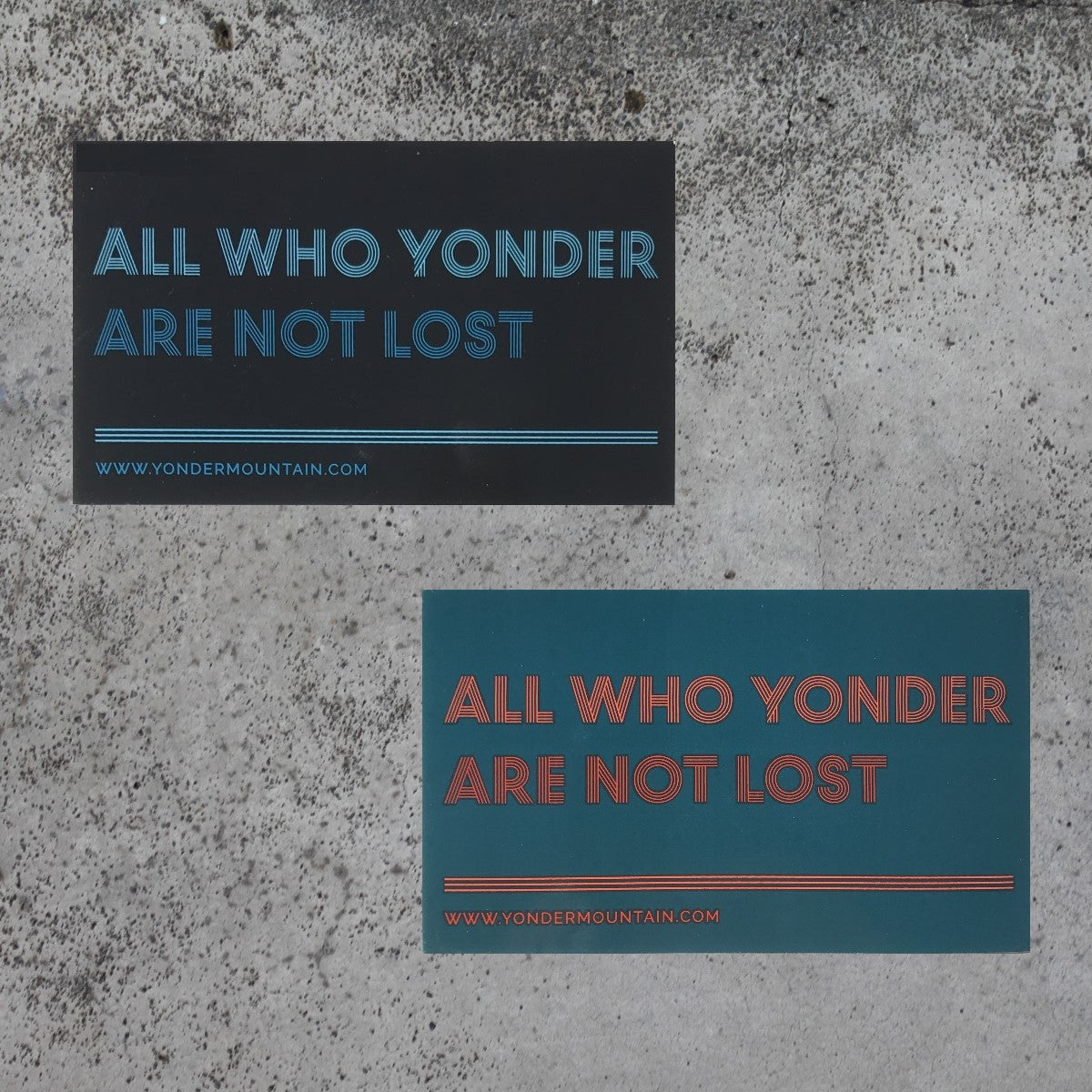 All Who Yonder Sticker - New Style