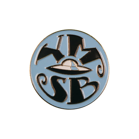 YMSB Retro Spaceship Pin