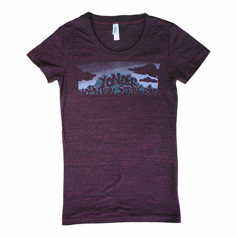 Ladies Mountain Clouds T-Shirt