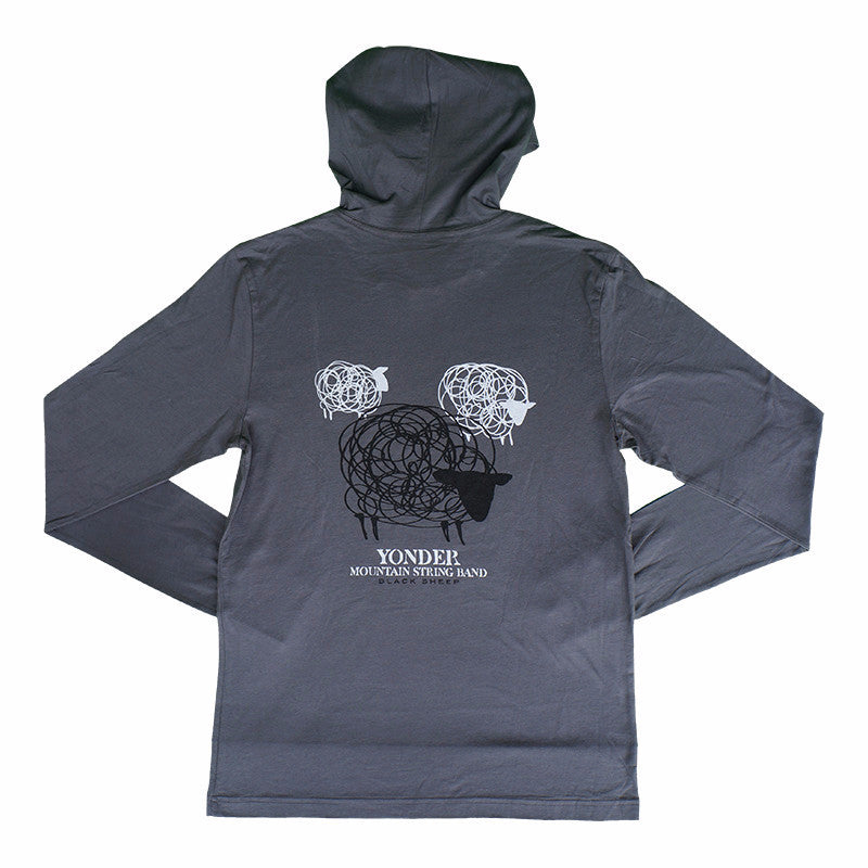 Black Sheep Hooded Long-Sleeve