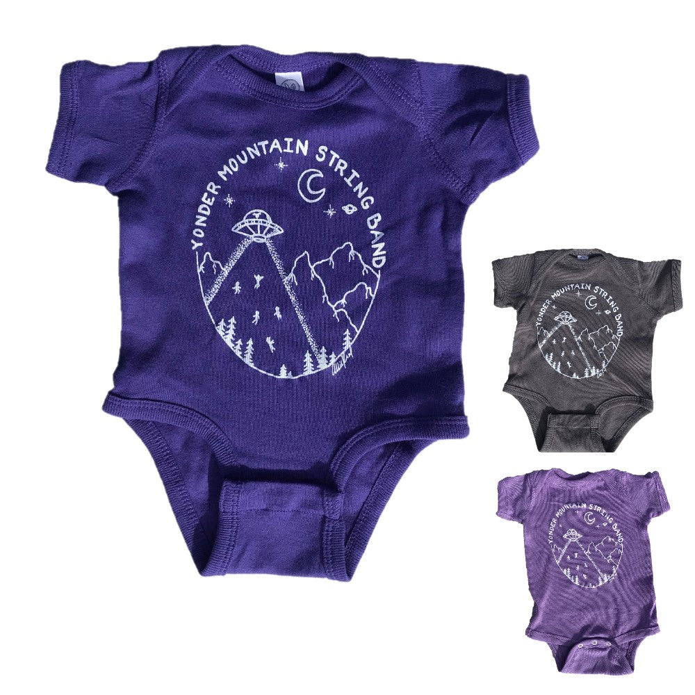 Hand-Drawn Allie Kral Design Onesie