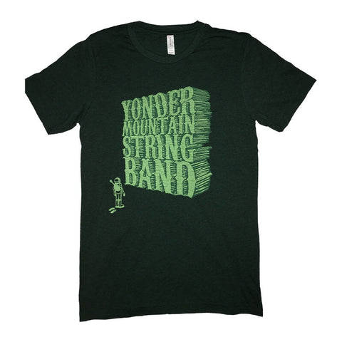 Baseball 3/4 Sleeve T-Shirt - Green