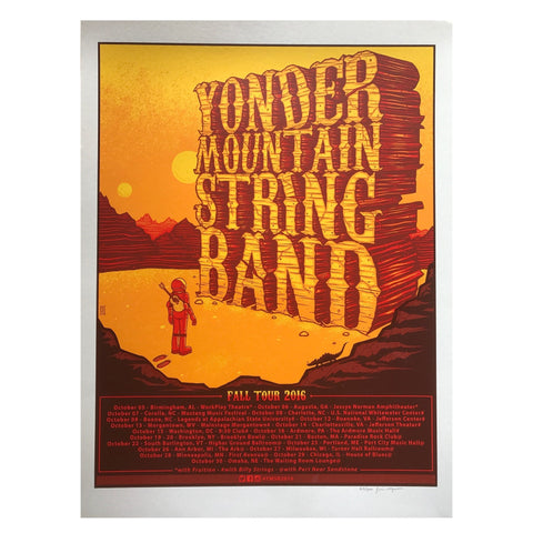 NEW FROM THE ARCHIVES - Signed Red Rocks 2019 Poster