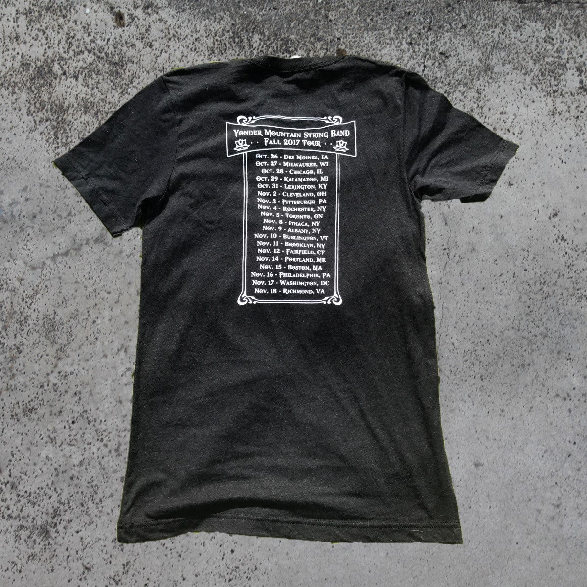 2017 Fall Tour T-Shirt
