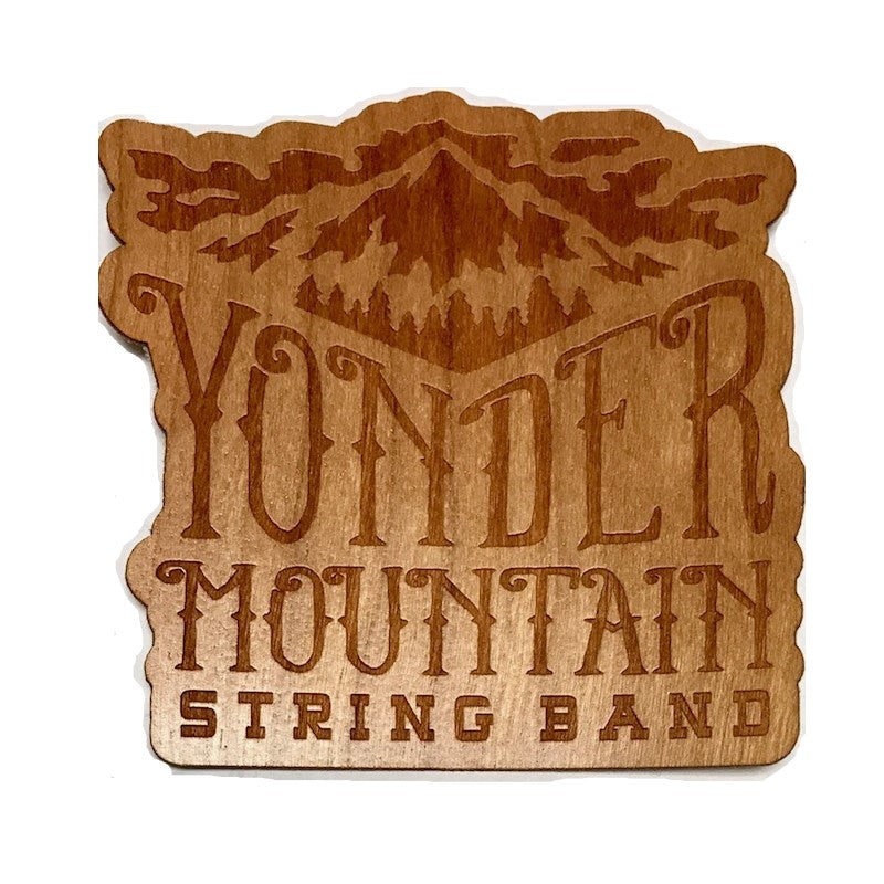 Wood Mountain Logo Sticker