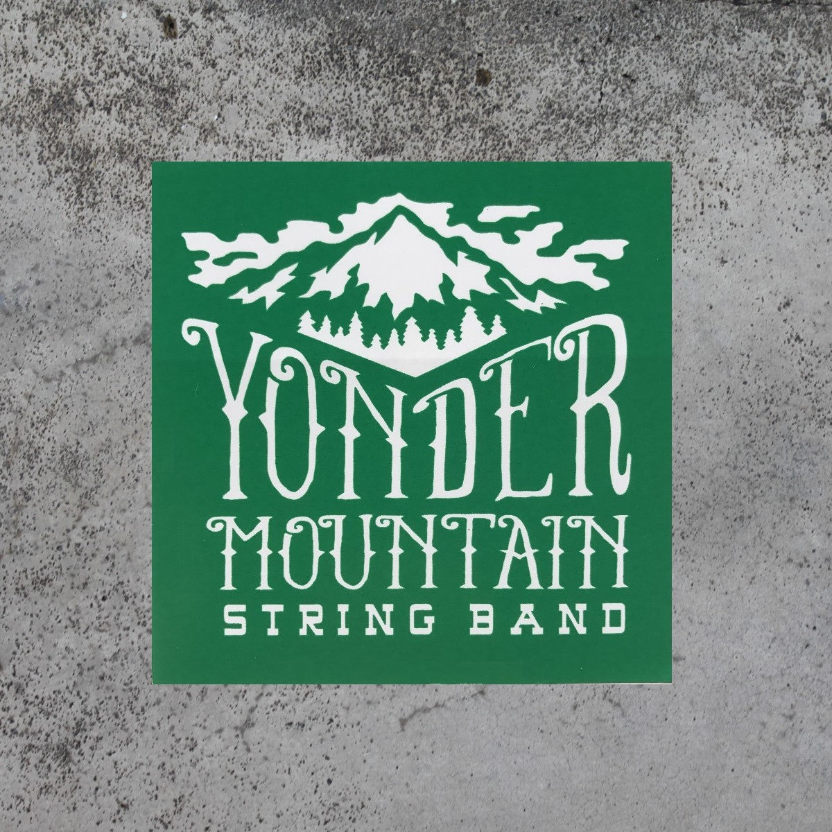Mountain Logo Sticker