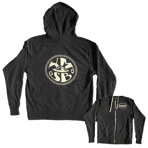 Mountain & Sun Zip Up Hoodie