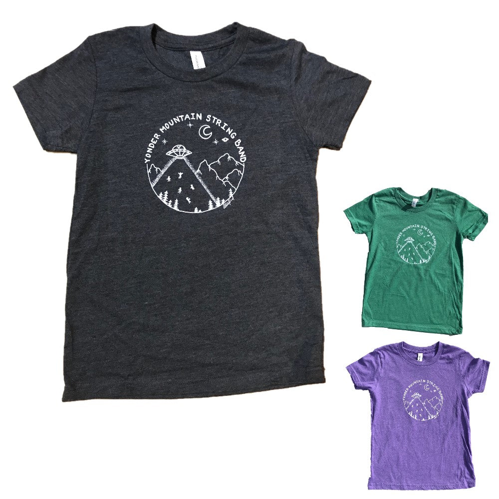 Hand-Drawn Allie Kral Design Kids T-Shirt