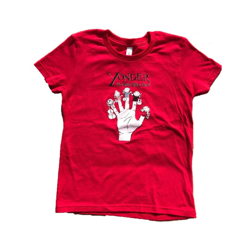 Kids Finger Puppet T-Shirt