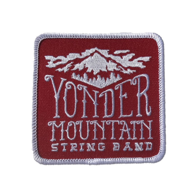 Mountain Logo Patch - Red