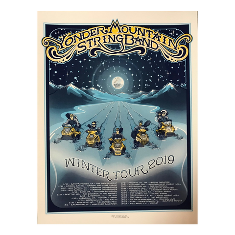 2019 Winter Tour Poster