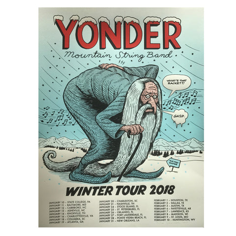 2018 Winter Tour Poster