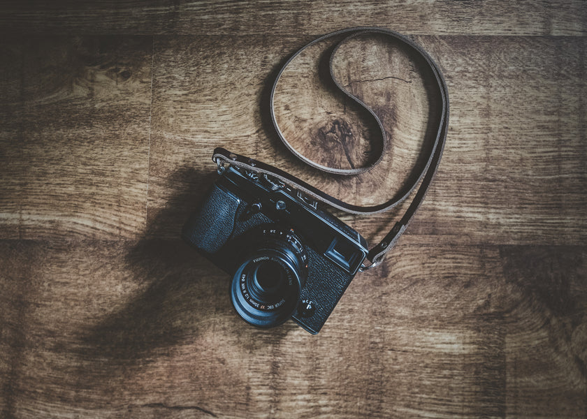 Best Leather Camera Strap for a Fujifilm Camera