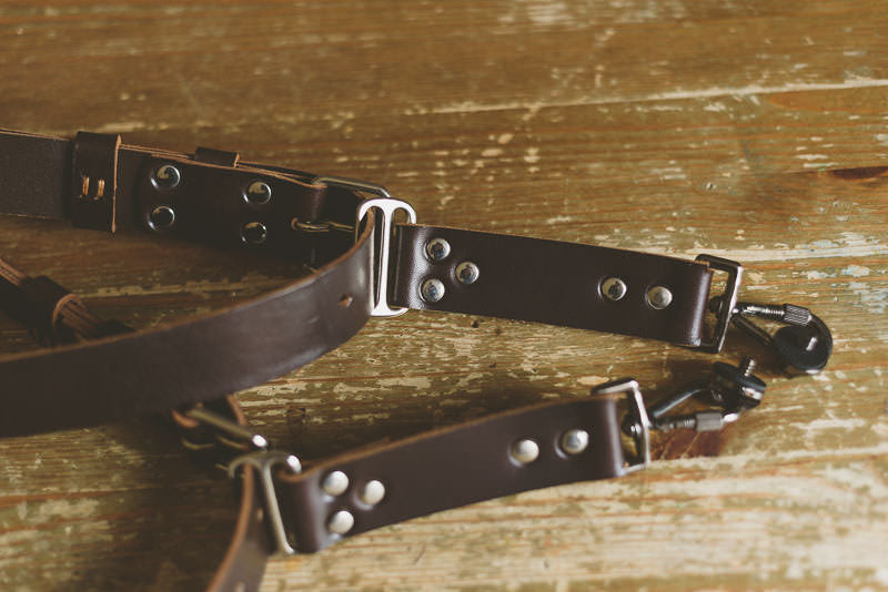 Leather Camera Straps for Wedding Photographers