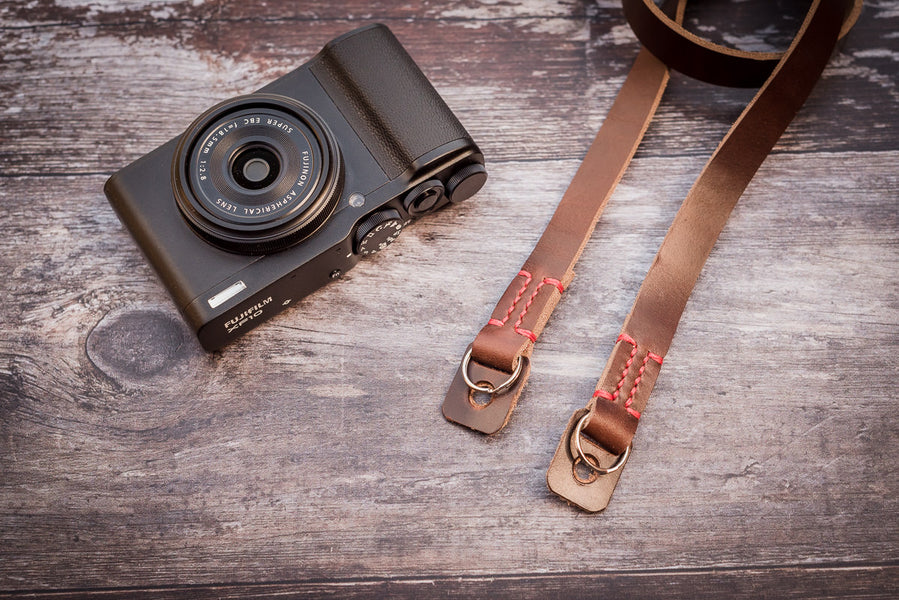 Granada Premium Camera Straps NOW in Brown!