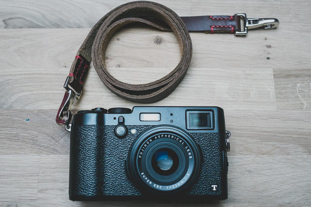 Horween Chromexcel Leather Camera Straps Now Available!